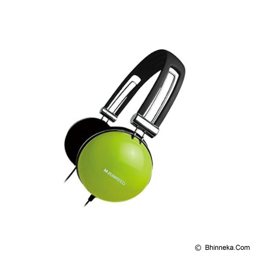 ZUMREED Color Headphone [ZHP-005 Color] - Lime Yellow - Headphone Portable